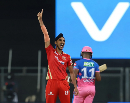 Samson's century in vain as Punjab edge Rajasthan in IPL thriller