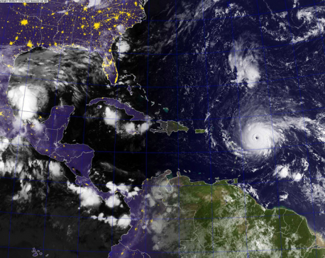 Deadly Irma pounds Caribbean, takes aim for Florida