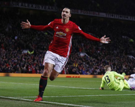 Ibrahimovic injury would be a 'disaster' for Man United: Mourinho