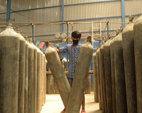 IN PICS: Oxygen factories operating round the clock with rise in demand