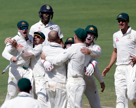 Australia beats India by 333 runs with 2 days to spare