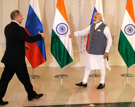 Putin, Modi hold talks to remove irritants in relationship