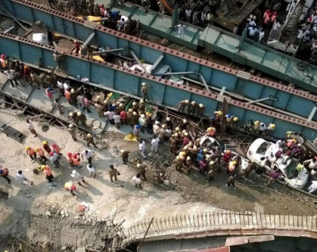 22 feared dead as bridge collapses in western India