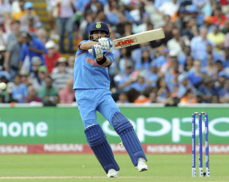 Rampant India sets up Champions Trophy final vs Pakistan