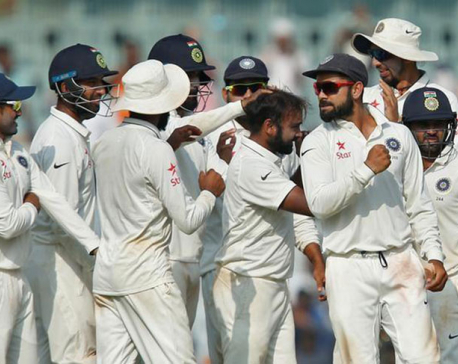 India beat England by innings and 75 runs in final test
