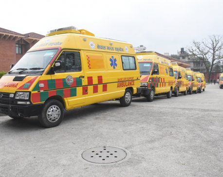 India gifts 41 ambulances and six school buses to Nepal