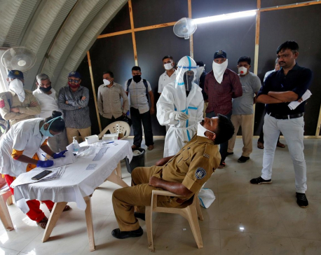 India reports record daily jump of 69,652 in coronavirus infections