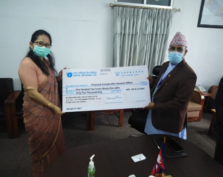 India provides Rs 1.54 billion to Nepal as a part of post-earthquake reconstruction assistance