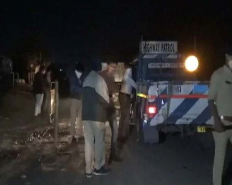 15 sleeping workers crushed to death by a truck in Gujarat
