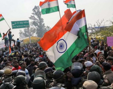 Protesting Indian farmers begin hunger strike after week of clashes