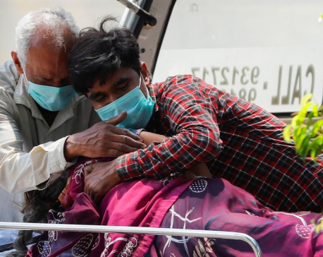 Fire in COVID-19 hospital kills 12 as India struggles with huge second wave