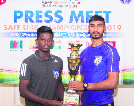 India, B'desh vying for first SAFF U-18 Championship title
