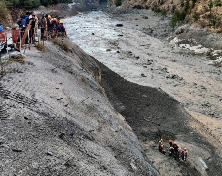 Rescuers search for 125 missing after glacier burst in Indian Himalayas, many believed trapped in tunnel