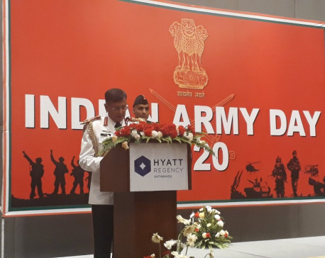 72nd Indian Army Day marked in Kathmandu
