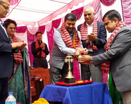 India-supported school building inaugurated in Kathmandu
