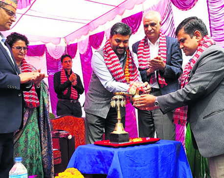 India builds school in Kathmandu