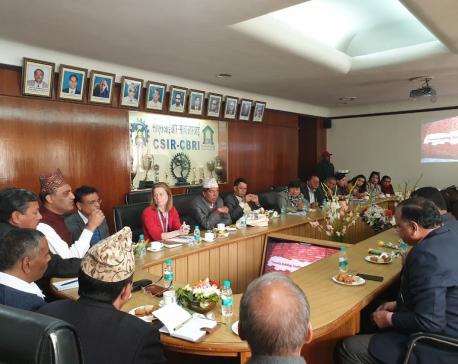 21 local government representatives from Nuwakot visiting India