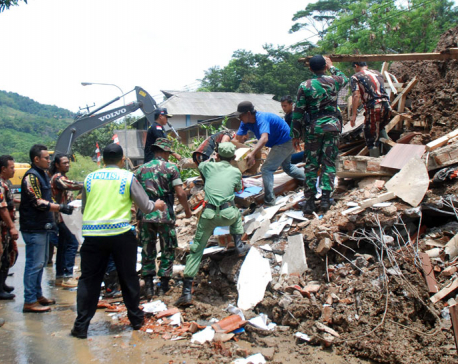 Death toll from Indonesia floods, landslides rises to 19