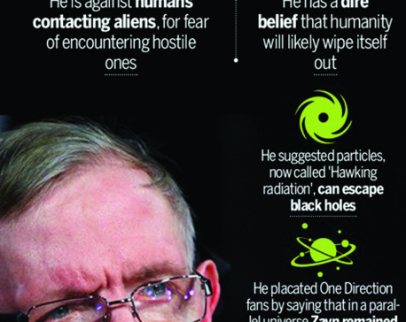 Infographics: Physicist Stephen Hawking turns 75