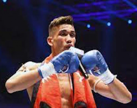 Snow Leopard' Abiral clinches Hit 49 Professional Boxing Championship 2021 title