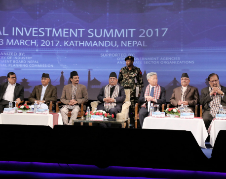 Nepal Investment Summit-2017 kicks off