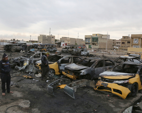 Death toll in Baghdad car bomb attack claimed by IS at 59