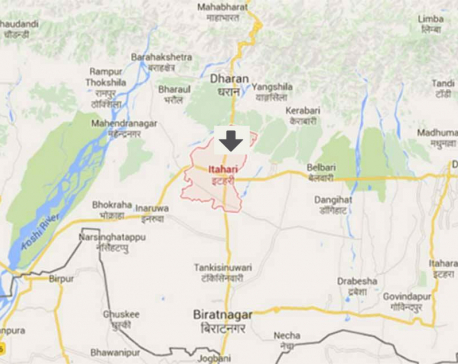 Three killed in Sunsari road mishap