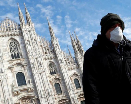 Coronavirus death toll jumps to 107 in Italy, all schools shut