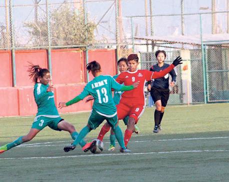 APF closer to women's football league title