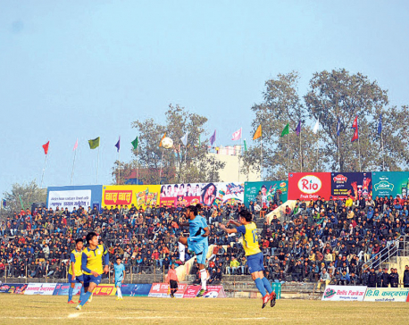 Rupandehi XI knocks Bhutanese club out of Khaptad Gold Cup