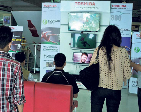 Television sales up by 20 percent: Traders