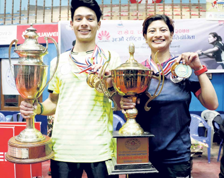 NPC dominates in Table Tennis Tournament
