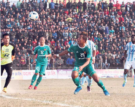 Tribhuvan Army Club into final