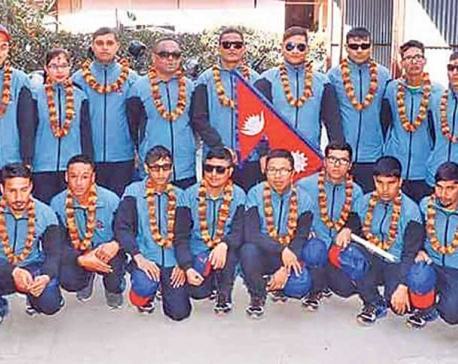 NCSS collects fund for blind cricketers