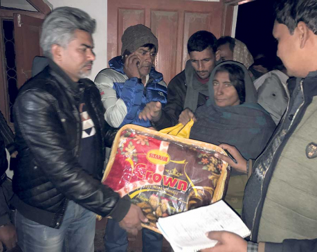NMCC distributes relief materials to cold wave victims