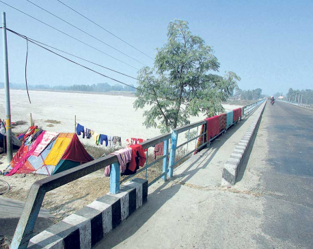 Sun relieves residents of cold in Madhes