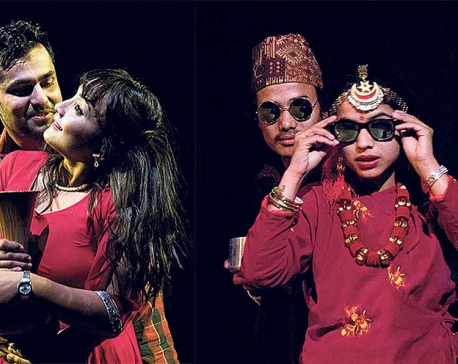 """""""Chiso Bhanjyang"""" warms up audience"""