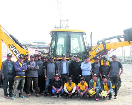 JCB organizes 'Operator Meet' in Itahari
