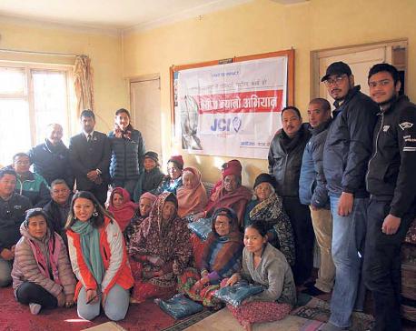 JCI Patan initiates Jaycees Nyano Abhiyan