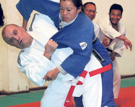 Training camp for Judo National Team starts