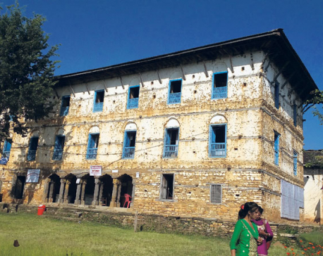 248-year-old Jajarkot palace awaits renovation