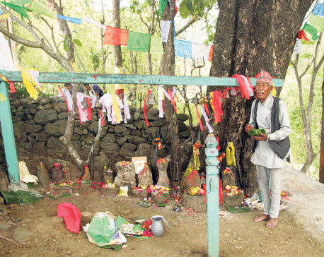 Jal Kanya Devi a hidden religious tourist spot in Dharan