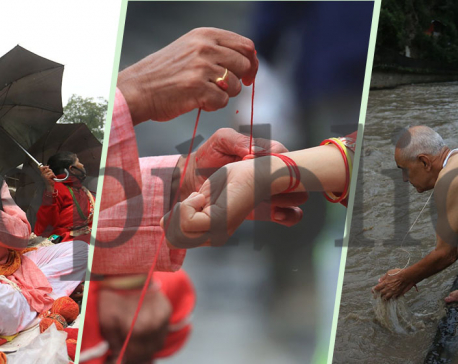 PHOTOS: Janai Purnima being observed today