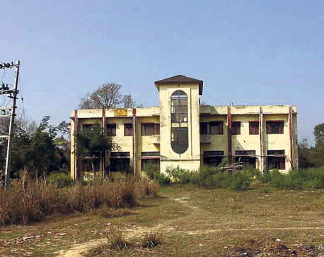 JEMC's printing press in Nepalgunj gathering dust for years