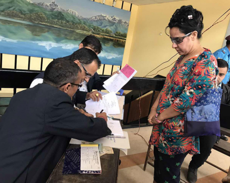 Independent Bhattarai becomes first candidate for KTM