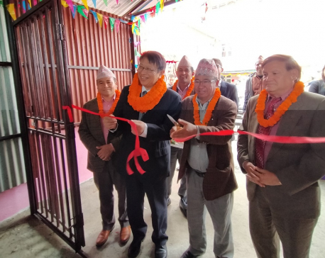 Japan hands over oxygen generation and distribution system to  Dhankuta Hospital