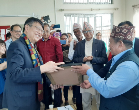 Japanese Ambassador to Nepal hands over agricultural facilities to Bhutanese camps