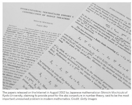 Japanese mathematician solves conjecture after 8-year struggle