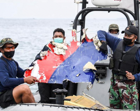 Indonesia hopes to retrieve black boxes of crashed jet from Java Sea