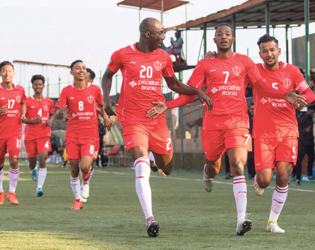 Jawalakhel climbs fifth; Sherpa avoids relegation